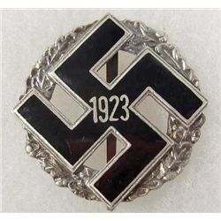 GERMAN NAZI GAU ALLEGEMEINE ENAMELED BADGE