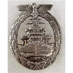 GERMAN NAZI NAVY HIGHT SEAS FLEET BADGE