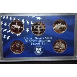 1999-S US Mint State Quarter Proof Set With COA Included; EST. $3-6