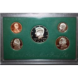 1998-S US Mint Proof Set With COA Included; EST. $10-15