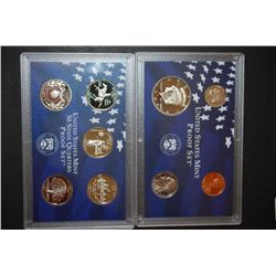 1999-S US Mint Proof Set & US State Quarter Mint Proof Set With COA Included; EST. $10-15