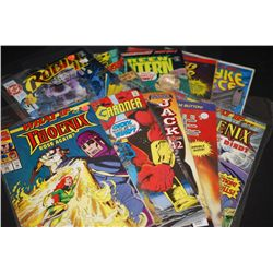 Now, Marvel, DC, Vertigo And Image Comics; Various Dates, Villains & Heroes; Lot of 10; EST. $10-40