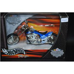 2001 Mattel Hot Wheels Inc. Nascar Thunder Rides Phizer Collectible Motorcycle; EST. $10-20