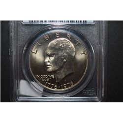 1976-D US Eisenhower $1 Type I; PCGS Graded MS64; EST. $5-10