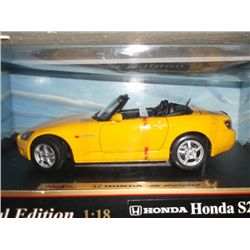 Yellow 1970 Honda Collector Car