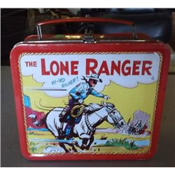 The Lone Ranger Lunchbox 1995 The Lone Ranger Hi-Yo Silver and Get-Um up Scout Lunchbox