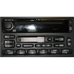 Ford Factory AM FM CD Tape player 12-03128/39545 Ford Factory AM FM CD Tape player