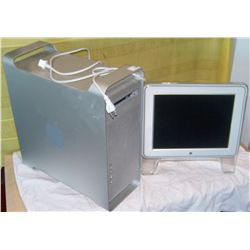 Power Mac G5 Computer with Studio Display Monitor