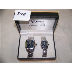 ICE EXTREME MEN'S & LADIES WATCH SET NEW IN BOX