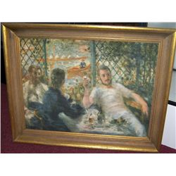 P.A. Renoir Giclee on Canvas