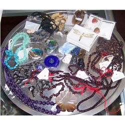 Assorted Stone and Beaded Jewelry