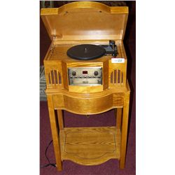 Philco Antique Reproduction Record Player on Stand