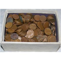 468 UNSEARCHED WHEAT PENNIES