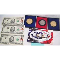 MULTI-PIECE COINS & CURRENCY