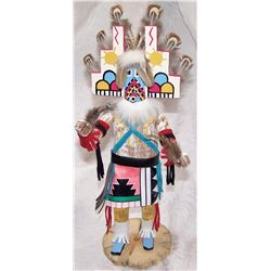 KACHINA DOLL SIGNED ON BASE
