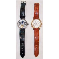 Two Designer Men's Wristwatches