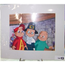ORIGINAL ANIMATION PRODUCTION CEL: ALVIN & THE CHIPMUNKS