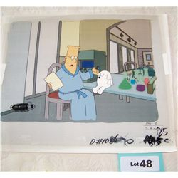 """DILBERT"" ORIGINAL ANIMATION PRODUCTION CEL"