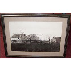 Andrew Wyeth Framed Fine Art Print Signed Lower Right