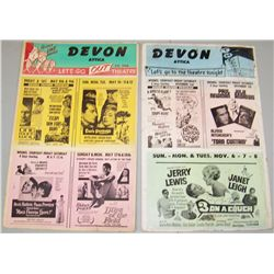 Two Vintage Devon Attica Lithograph Showbills.