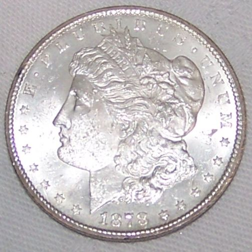 Uncirculated 1878 Carson City Morgan Silver Dollar