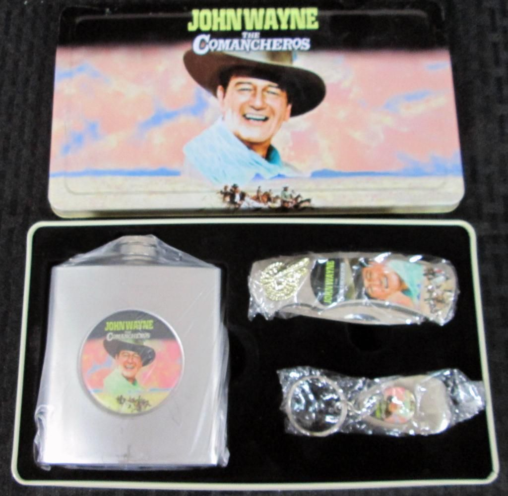 John Wayne The Comancheros Collector Set