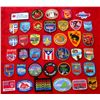 Lot of 39 Different City & State Patches