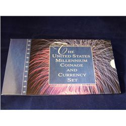 The US Millennium Coinage & Currency Set