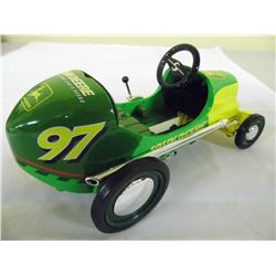 "ENESCO Pedal Car & Bank - Limited Edition - 1/6th scale - # 97 Chad Little ""JOHN DEERE"" Model"