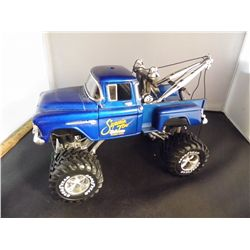 1/24 Scale - 1956 Chevy 3100 Step Side MONSTER TRUCK Wrecker w/ winch & Boom