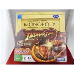 Monopoly – Indiana Jones Edition in wooden box NIB