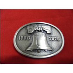 1975 Bicentennial w/Liberty Bell - Collectable Belt Buckle
