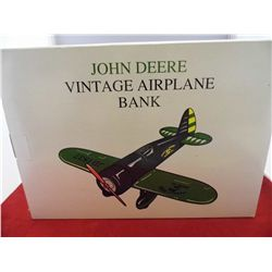 Spec Cast John Deere-Airplane Bank Travel Air Model R  NIB