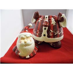 Bella Casa by Ganz Santa Claus Cookie Jar - 10.5 in. tall - Matches Lot 172