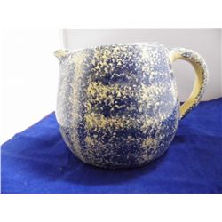 Marshall Pottery - Pitcher - 6 in. tall x 5 in. wide at base - Made in Marshall, Texas USA