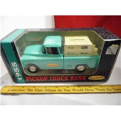 1/25th Ertl vehicle bank -  True Value '1955 Chevy Pick Up