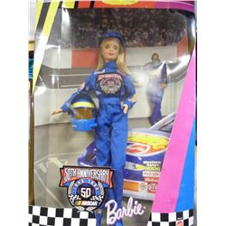 50th Anniversary - Matel (20442)1948 to 1998 Nascar Barbie Collectors Edition