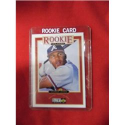 Andruw Jones Atlanta Braves Rookie Card