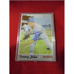 "Tommy John - Chicago White Sox - Pitcher - Known for ""The Operation"""