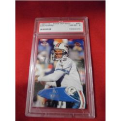 PSA 1999 Coll. Edge Odyssey - Dan Marino NM-MT 8 - First Quarter Card