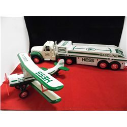 Hess Vehicle w/lights and sound features including a Truck and Airplane  NIB (Except for pics)