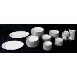 73 Piece Haviland Limoges China Set