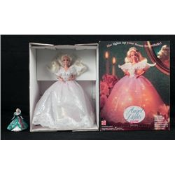 Holiday Angel Christmas Tree Topper Ornament Barbie MIB