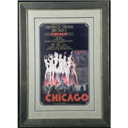 Chicago Bob Fosse Broadway Poster Framed