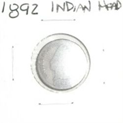 1892 INDIAN HEAD PENNY *NICE PENNY PLEASE LOOK AT PICTURE TO DETERMINE GRADE*!!