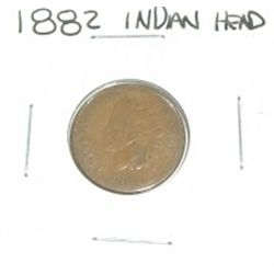 1882 INDIAN HEAD PENNY *RARE NICE PENNY PLEASE LOOK AT PICTURE TO DETERMINE GRADE*!!