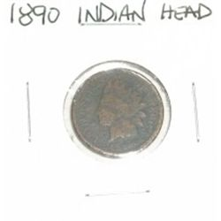 1890 INDIAN HEAD PENNY *RARE KEY NICE PENNY PLEASE LOOK AT PICTURE TO DETERMINE GRADE*!!