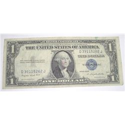 1935 SERIES G SILVER CERTIFICATE $1 SERIAL # D39115262J *NICE PLEASE LOOK AT PIC TO DETERMINE GRADE*
