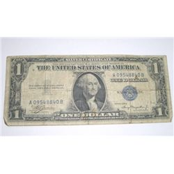 1935 SERIES RARE A SILVER CERTIFICATE $1 SERIAL # A09548840B *PLEASE LOOK AT PIC TO DETERMINE GRADE