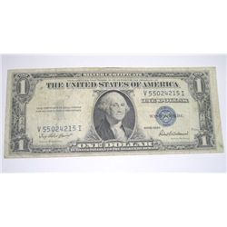 1935 SERIES F SILVER CERTIFICATE $1 SERIAL # V55024215I *PLEASE LOOK AT PIC TO DETERMINE GRADE*!